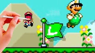 Luigi in Super Mario Maker! [Exclusive Luigi Mod]