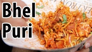 Bhel Puri - A Crunchy & Tangy Indian Snack