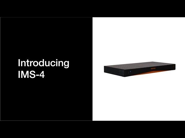 Introducing IMS-4 Music Streamer