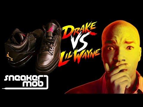Best Air Jordan 3   Drake vs. Lil Wayne  Or  Legends Of The Summer .  HotNewHipHop 2c44a7ef9