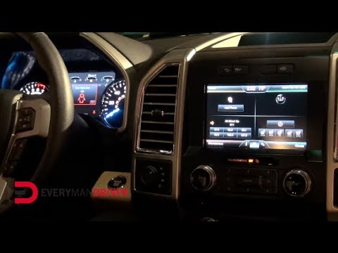Here's the 2015 Ford F-150 Instrument Cluster on Everyman Driver