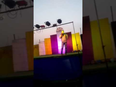 Binu nigam ko audience ka prem bahut mila,stage show( chatra jharkhand)mo-8804492521
