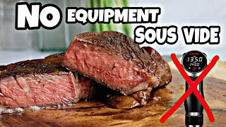 How to cook steak sous vide without a machine