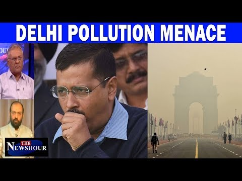 Delhi Pollution Menace: Taxed You To 'Choke' You? | The Newshour Debate (15th November)