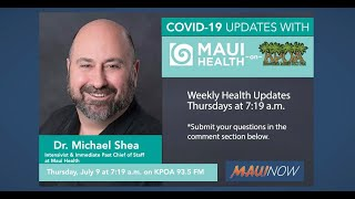 Interview: Maui Health Intensivist Answers COVID-19 Community Questions
