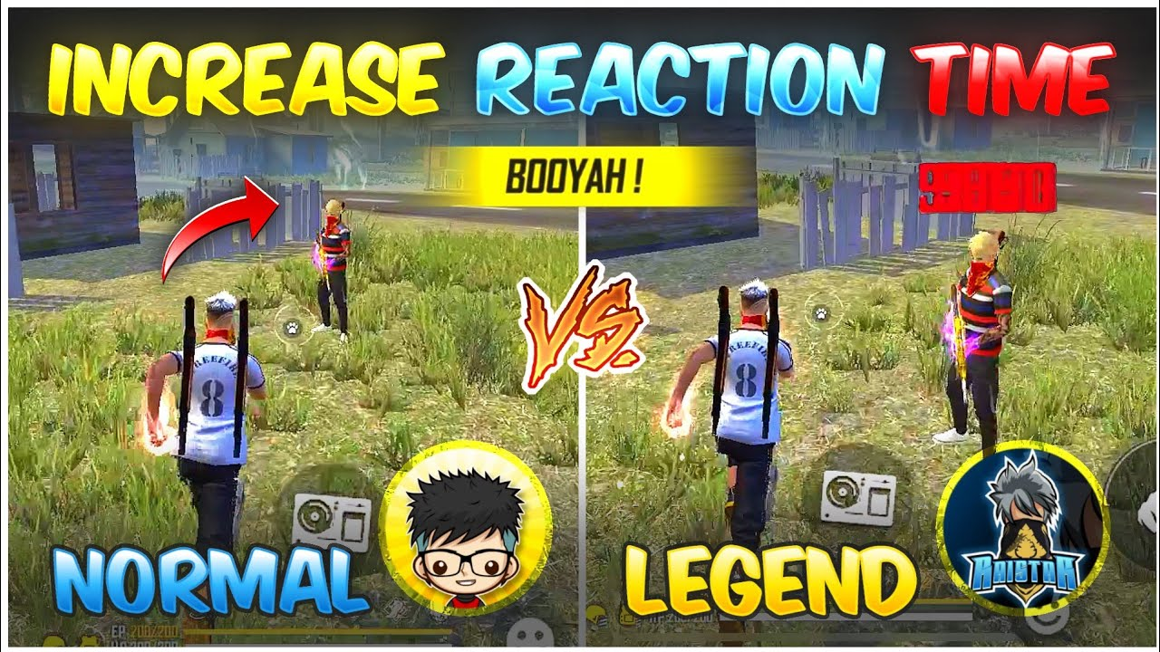 How To Increase Reaction Time In Free Fire 🔥  Super Fast Reaction Trick   Increase Reflex Movement 👽