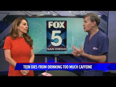 Fox5 - Caffeine & Energy Drink Dangers/Possible cure for grey hairs and balding - May 16, 2017
