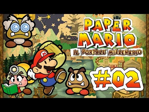 Let's Replay Paper Mario IPM 2: I believe I can fly. With a paper airplane.