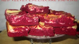 Red Velvet Cheesecake Brownie  Carisma Cupcakes SL