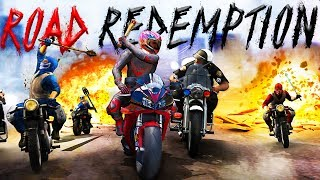 All Out Biker Gang Warfare! - The NEW Road Rash - Road Redemption Gameplay