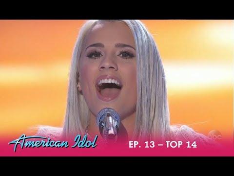 "Gabby Barrett: This Is When ""A STAR IS BORN!"" - Says Lionel Richie   American Idol 2018"