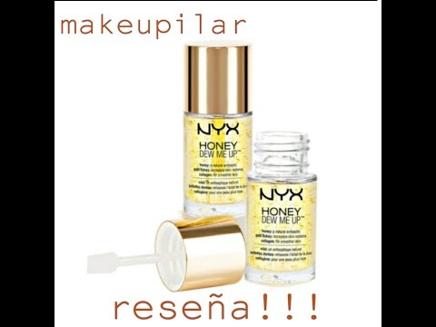 839e97890 Reseña de HONEY DEW ME UP PRIMER De NYX - YouTube