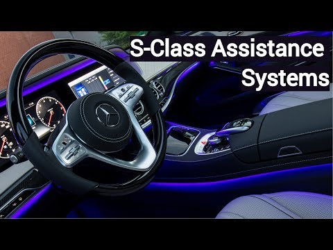 2018 Mercedes S-Class Assistance Systems and Active Parking Assist