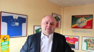 Обращение Президента Федерации Регби Зеленограда