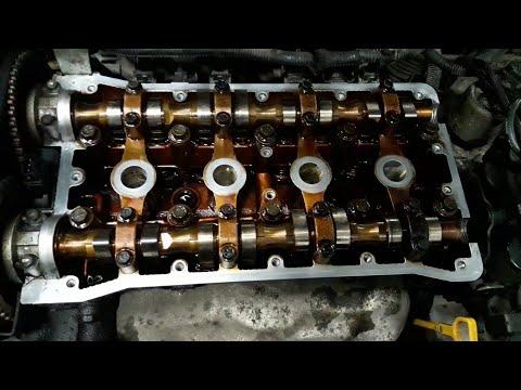 Chevrolet Lacetti лечим течь прокладки клапанной крышки...