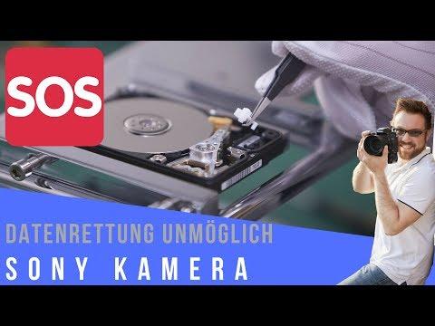 ALLE BILDER GELÖSCHT: SD KARTEN DATENRETTUNG - Unmöglich Bei Sony Kameras?