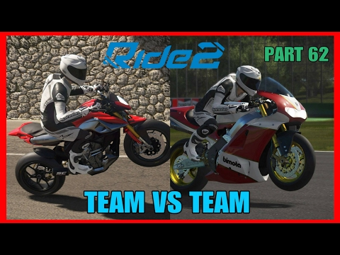 RIDE 2 PS4 PRO gameplay Part 62 | TEAM VS TEAM P2 | #RIDE2