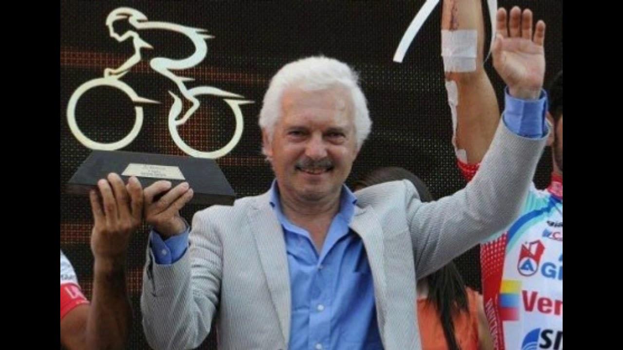 Gianni Savio, el director de Androni Giocattoli,queda fuera dell Giro de italia