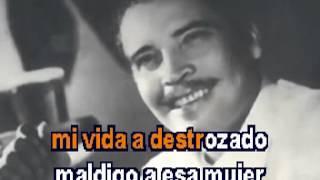 Desgracia Daniel Santos Karaoke.mpg