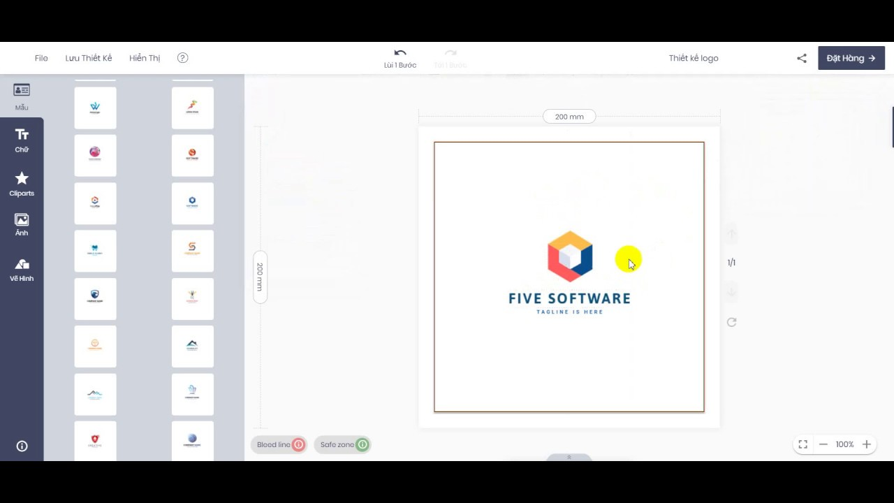 Thiết kế logo online: chọn lựa của hàng ngàn doanh người - In Tuổi Trẻ