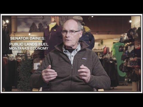 Montana Businesses to Sen. Daines: Public Lands Fuel Montana's Economy