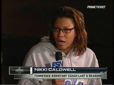 Nikki Caldwell The Gauntlet Interview - YouTube