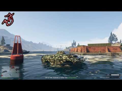 GTA 5 ONLINE misión [Fondos offshore] [Bunker]