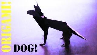 Shepherd Dog (modular Origami): Daily Origami - 539 [tcgames Hd]