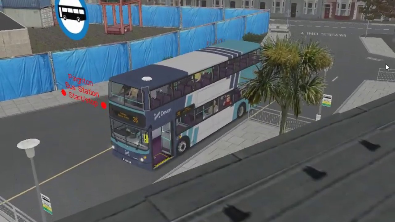 Omsi 2 Botw 2 9 route 35 with Badger's 2004 Volvo B7TL super