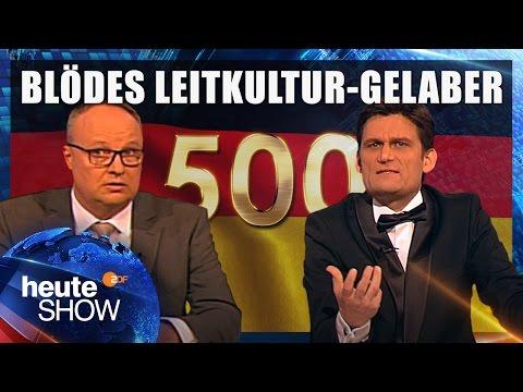 Thomas de Maizière eröffnet die 500ste Leitkultur-Debatte   heute-show vom 05.05.2017