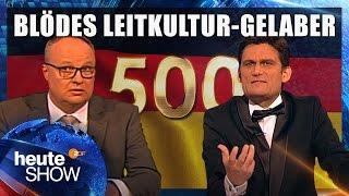Thomas de Maizière eröffnet die 500ste Leitkultur-Debatte
