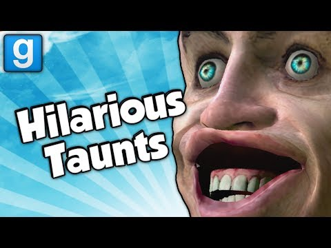 HILARIOUS TAUNTS! (Garrys Mod Hide and Seek Funny Moments)