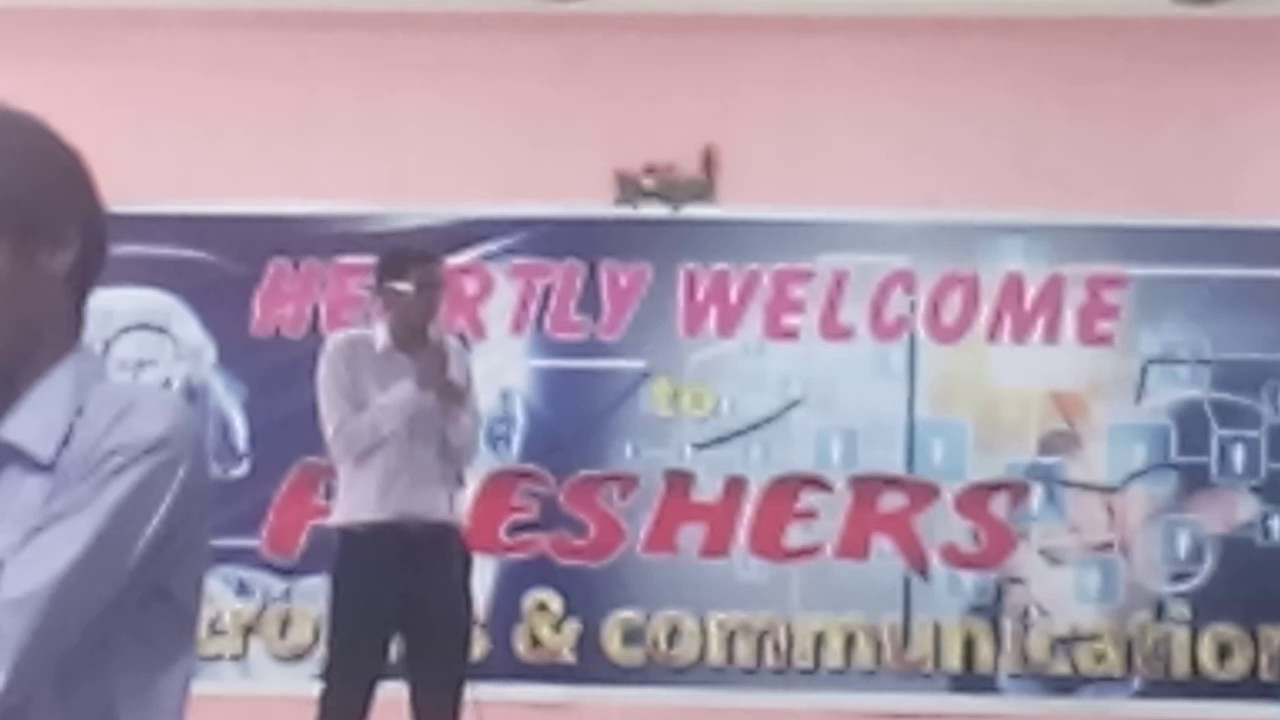 welcome party speech for juniors