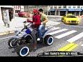 ATV Quad Bike - Modern City Taxi Driver Game || Tuk Tuk Rickshaw game || games