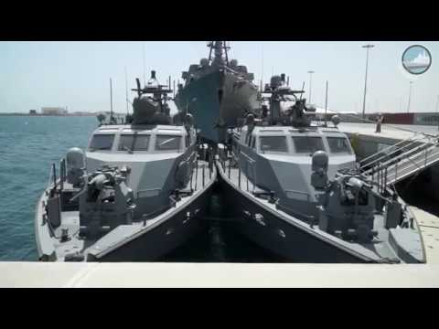 DIMDEX 2018 Day 2: ITS Carlo Margottini - INS Kolkata - USS Sampson - Mk VI Patrol Boat