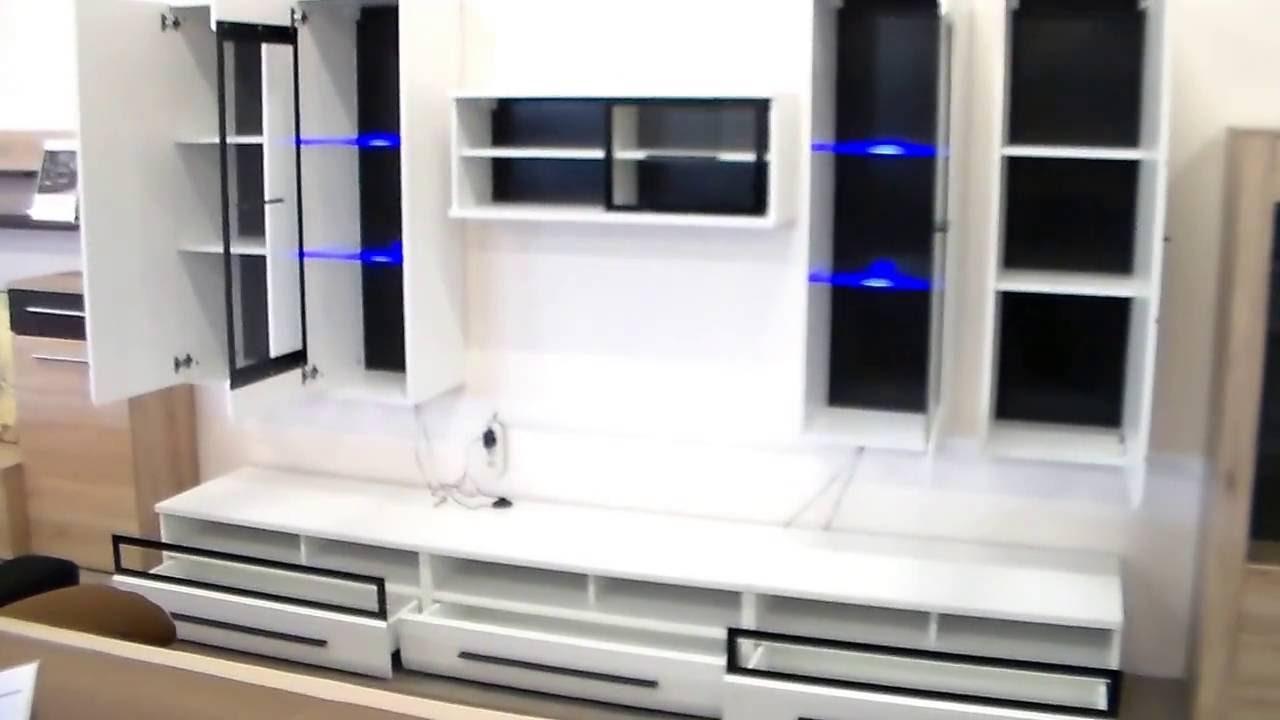Shine nappali szekrénysor / Home-Max Bútor - YouTube