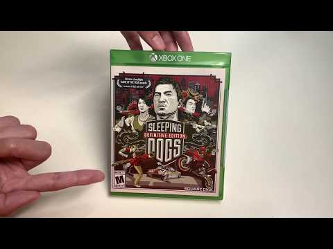 Sleeping Dogs Definitive Edition (Xbox One) Unboxing