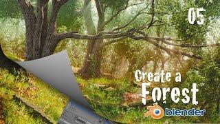 كيفية إنشاء الغابات في الخلاط : العشب & الواقعية - 5 من 6