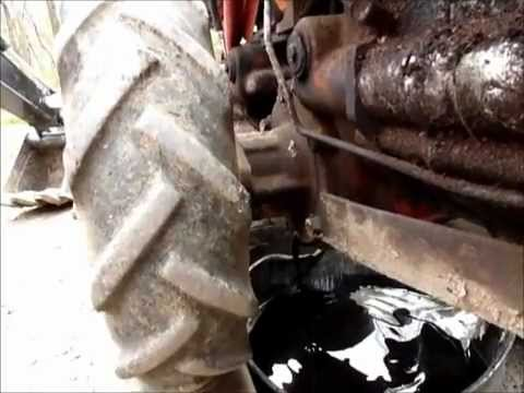 Walk Behind Tractor >> How to change oil in a gravely model L walk behind for new ...