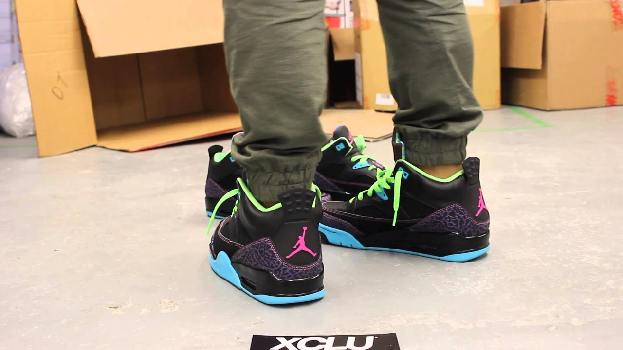 outlet store de631 ce96c spain jordan son of mars mens 4f328 53dd1  purchase jordan son of mars low  bel air on feet video at exclucity youtube 85450 65d69