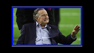 Breaking News   George H.W. Bush 'focused on Rockets' from hospital bed