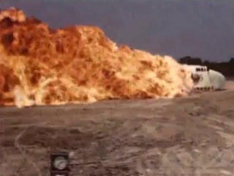 NACA Plane Crash Landing Fire Research - 1952 Educational Documentary - WDTVLIVE42