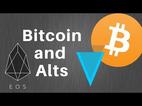 Bitcoin Analysis, Trading Alts!