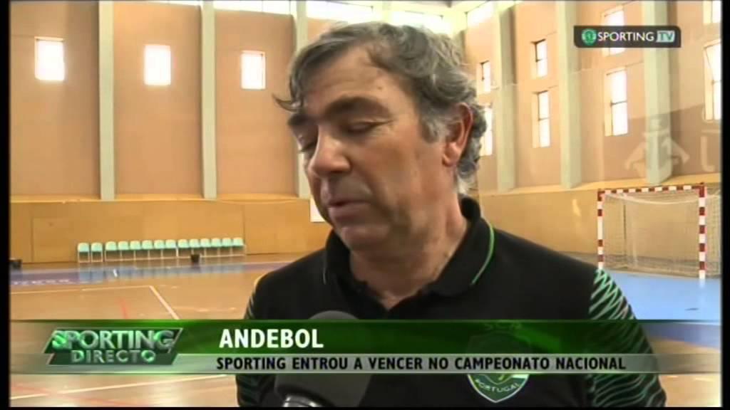 Andebol :: 01J :: Sporting - 35 x Ginasio Santo Tirso - 25 de 2014/2015
