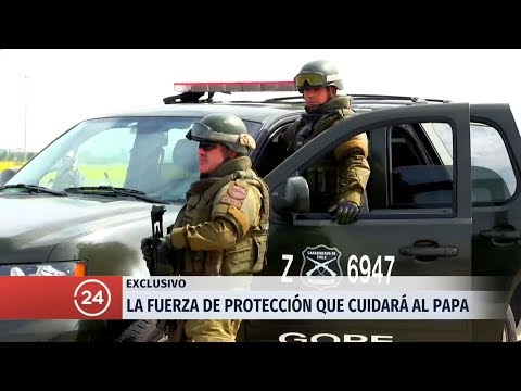 """""""Operación Francisco"""" - Carabineros de Chile (GOPE y PPI)"""