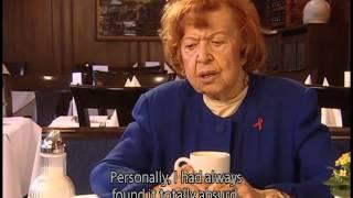 Brigitte Mira  spricht über Fassbinder und Ali: fear eats the soul (Eng sub)