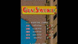 Arcade Game Gun.Smoke intro capcom 1985