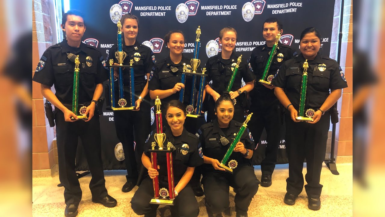 Police explorers   Mansfield,TX competition   WE KILLED IT !!