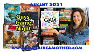 Game Like a Mother August 20201: Guys' Game Night