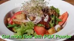 PGX Fiber & Powder - The Soluble Fiber Shown on Dr Oz